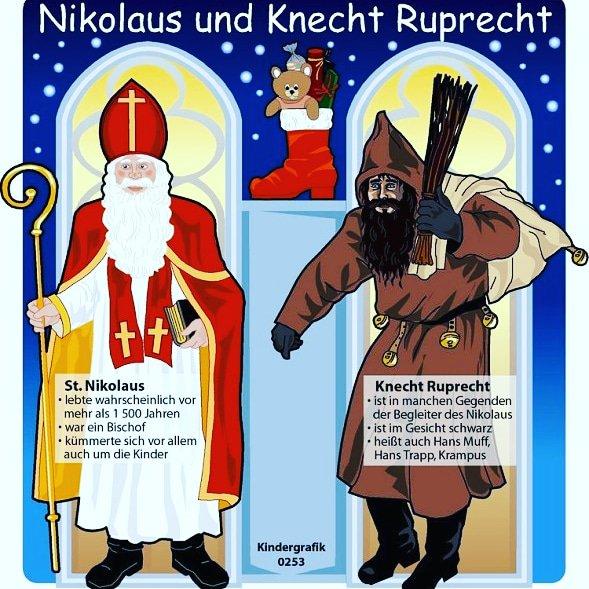 My Friends Told Me About You Guide Nikolaus Und Knecht Ruprecht