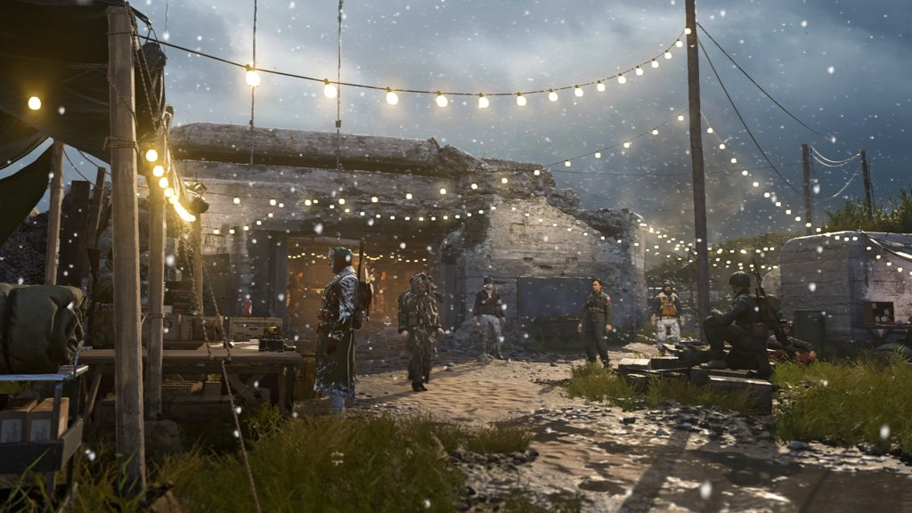 Call of Duty: WWII is getting in the holiday spirit with the Winter Siege event