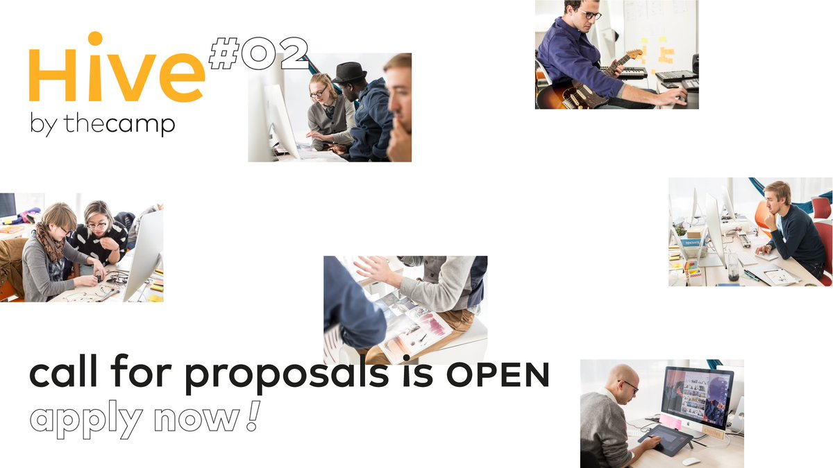 HIVE#2&#39;s call for proposals @thecampProvence is happening and you don&#39;t want to miss this awesome opportunity ;) Get your portfolio and your resume ready, it takes only 5 minutes to apply!  https:// thecamp.fr/programs/the-h ive &nbsp; …  #creation #collaborative #design #maker #engineer<br>http://pic.twitter.com/c9ZN0bI47J