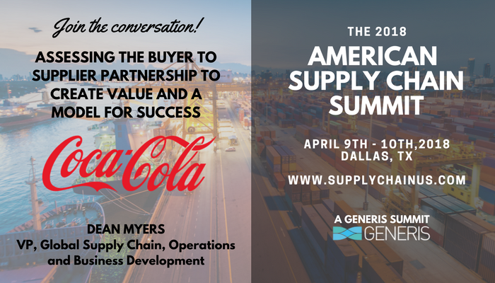 coca cola global supply chain