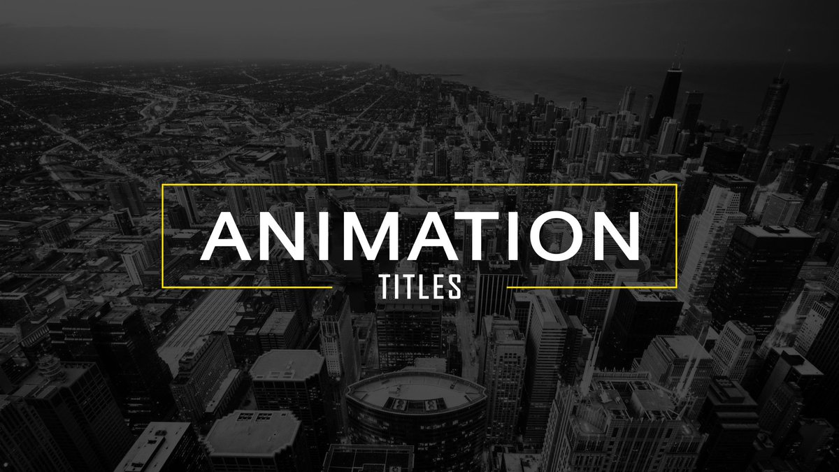 Free After Effects Templates Only1usd Twitter