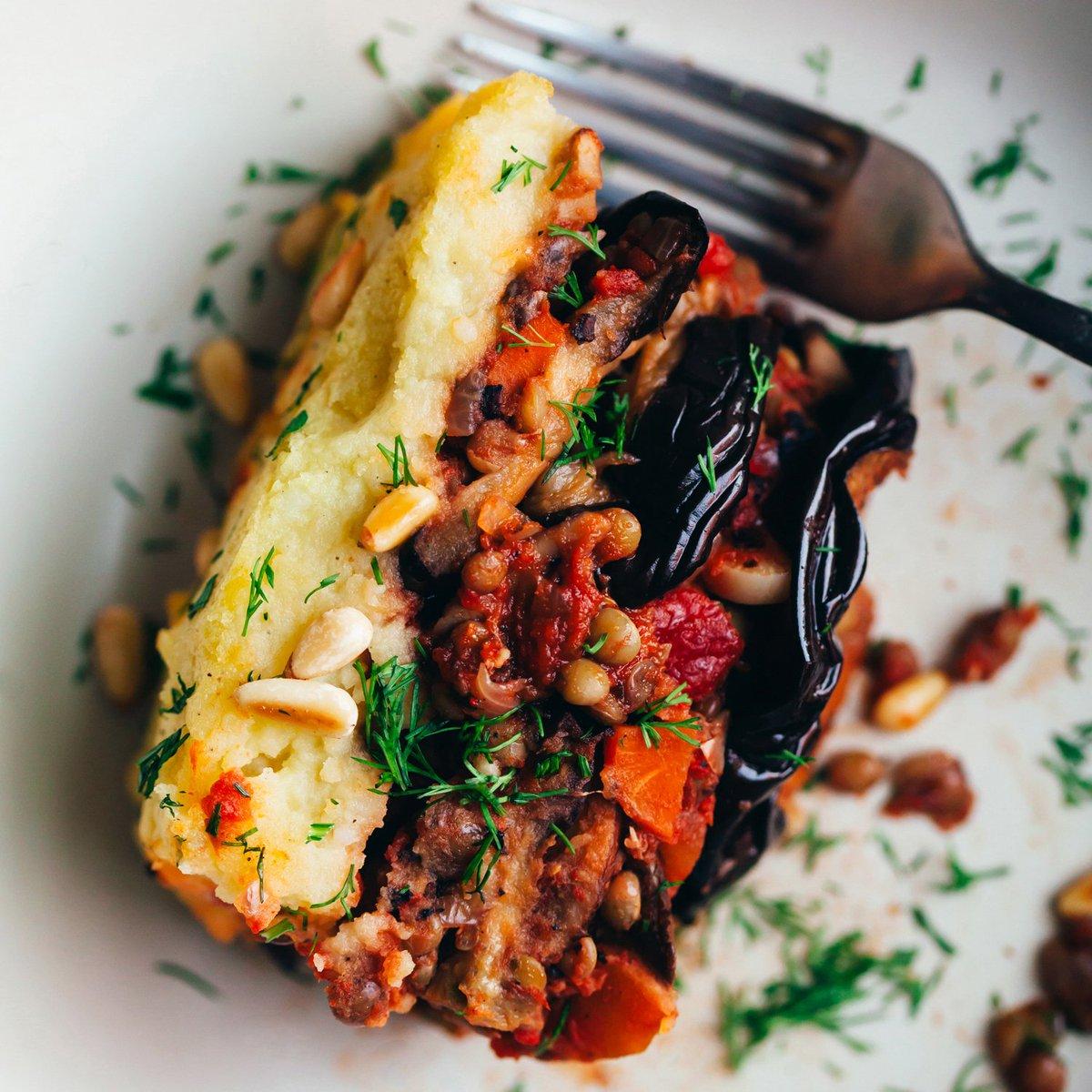 Golubka Kitchen On Twitter There S A Vegan Lentil Moussaka