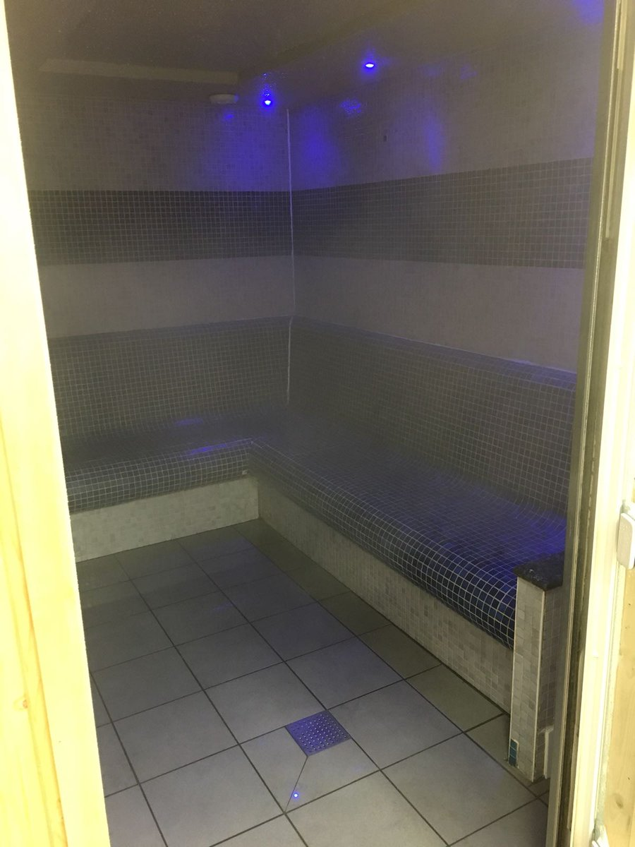 Men in gym steam room masturbated while watching customer suit