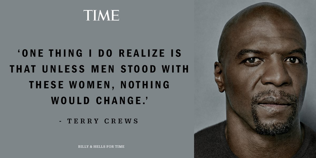 .@terrycrews: 'Men need to hold other men accountable' #TIMEPOY https://t.co/HSx8fYclw6