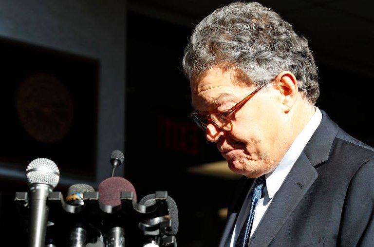 BREAKING: Democratic women senators call en masse for Al Franken to resign https://t.co/P9IOIQ0YdD