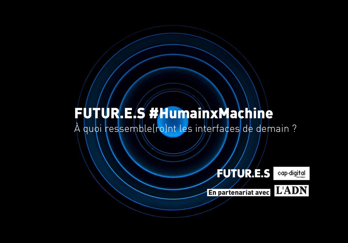 Futur.e.s #HumainxMachine c'est demain  Inscription :  http:// bit.ly/HumainxMachine      Les démos :  http:// bit.ly/hXm-Démos      L'event' :  http:// bit.ly/hXm-Event      ・・・ Jeudi 7 décembre de 09h à 13h Cap Digital, 14 rue Alexandre Parodi, 75010 PARISpic.twitter.com/BH3iSUayau