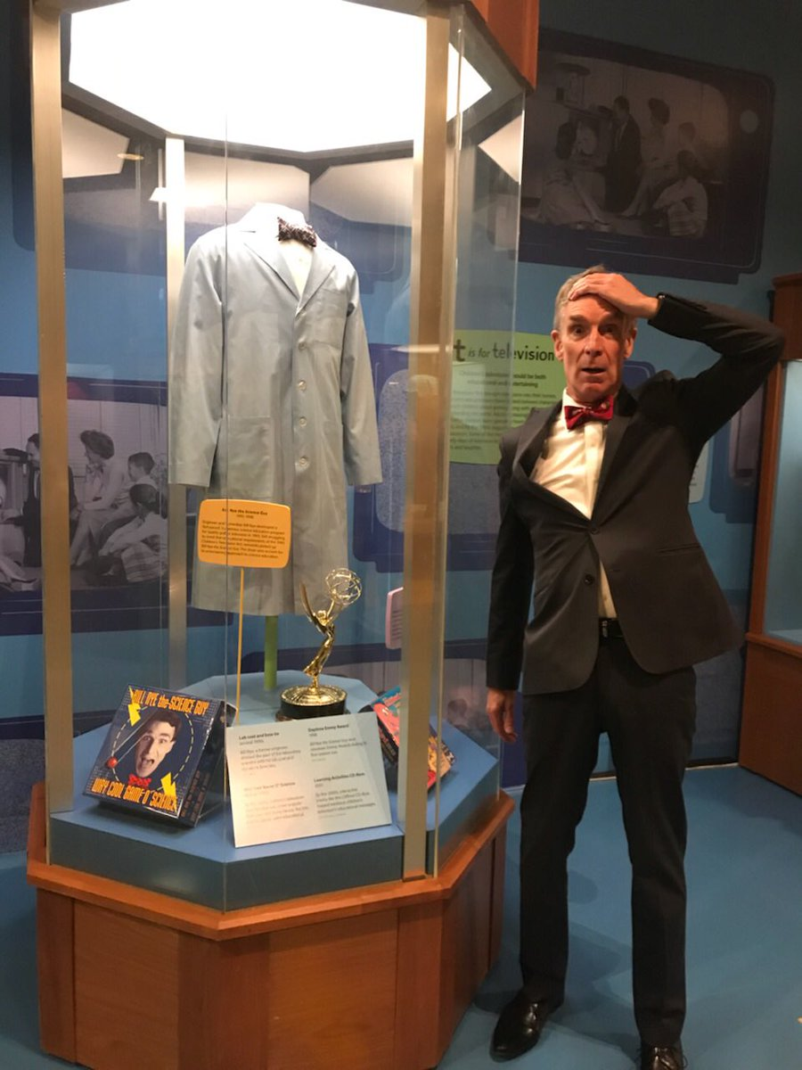 test Twitter Media - My lab coat is in the Smithsonian. Hope you'll visit. https://t.co/934WsvaHkx