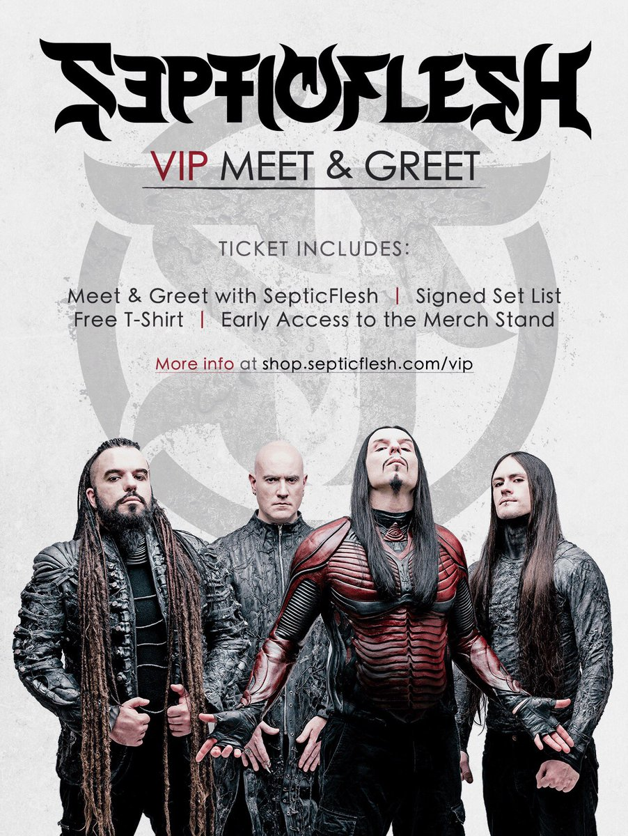 Septicflesh on twitter vipmeet greet tickets will be available septicflesh on twitter vipmeet greet tickets will be available for all dates during our tour with inquisition in europe m4hsunfo
