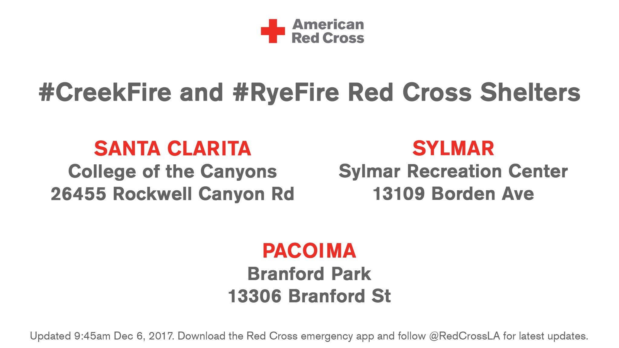 Red Cross Los Angeles on Twitter: