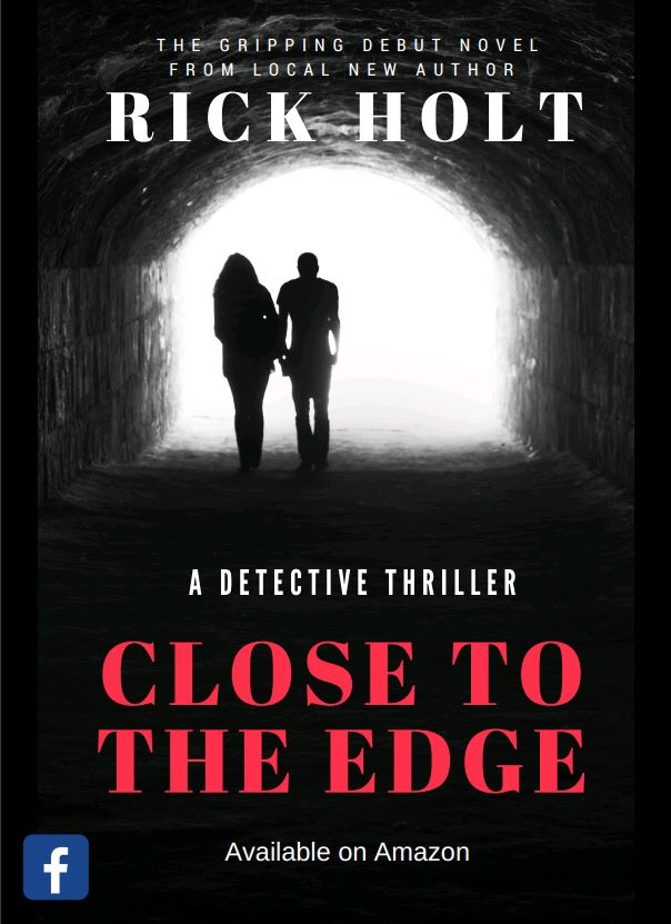 Close To The Edge - an excellent #Christmas  stocking filler from #local #author @Holt_Rickster featuring #Dorking's very own @KingsArmsRH4!  Available on @AmazonUK and @AmazonKindle at  https://www. amazon.co.uk/Close-Edge-gri pping-crime-fiction/dp/1979432945/ref=sr_1_1?s=books&amp;ie=UTF8&amp;qid=1512138237&amp;sr=1-1&amp;keywords=rick+holt+books &nbsp; …  #Debut #Novel #Detective #Crime #Thriller #Fiction<br>http://pic.twitter.com/LODz4CRJ0p