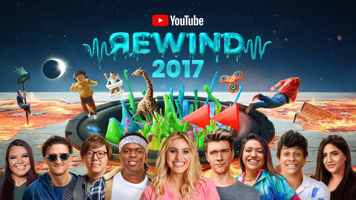 2017年のトレンドを動画で振り返る #YouTubeRewind の動画が公開されました🎉日本のク…