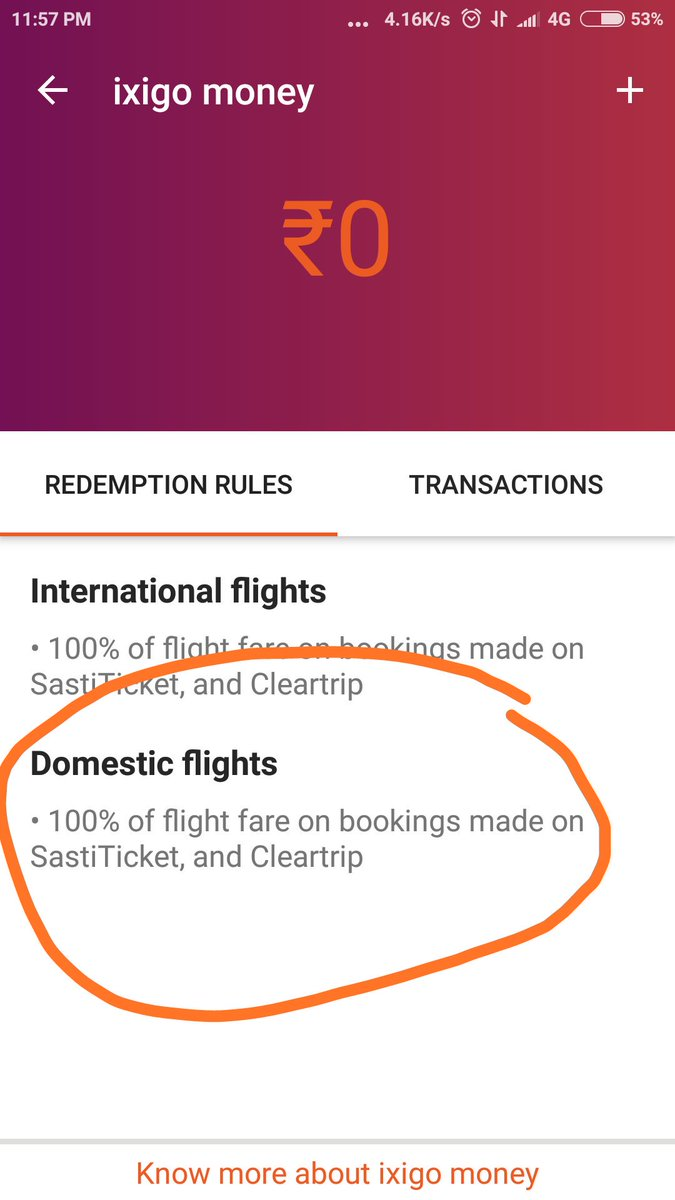 Ixigo Flights App