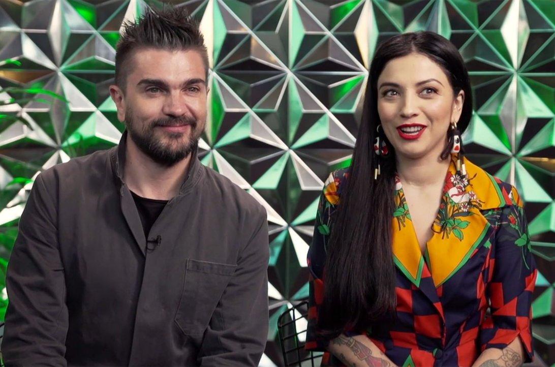.@Juanes and @MonLaferte talk joint 2018...