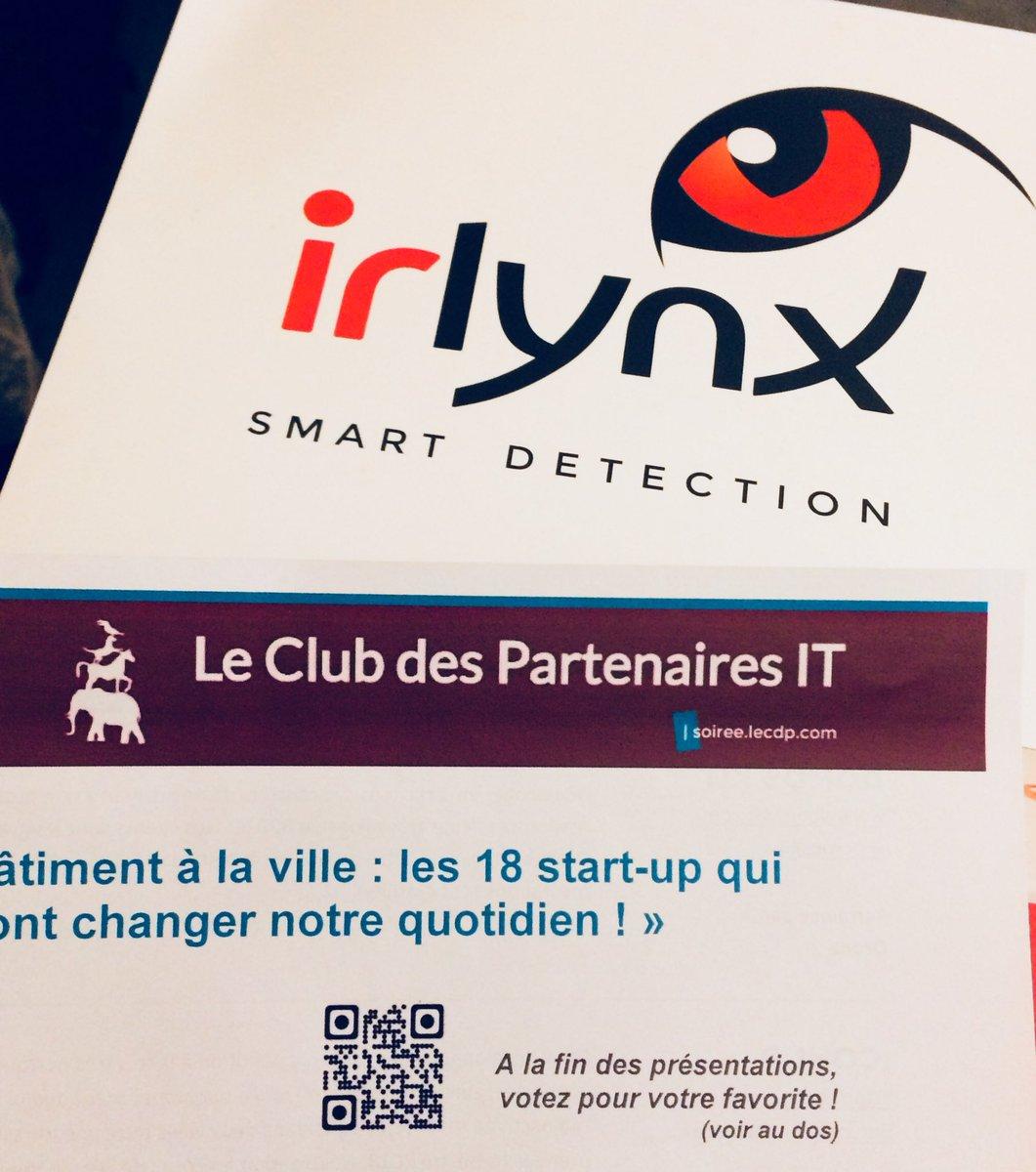 test Twitter Media - Irlynx présent à la grande soirée du club des partenaires IT pour présenter ses capteurs IOT pour le bâtiment intelligent. #lecdp #alliancy https://t.co/tlvejh65t4