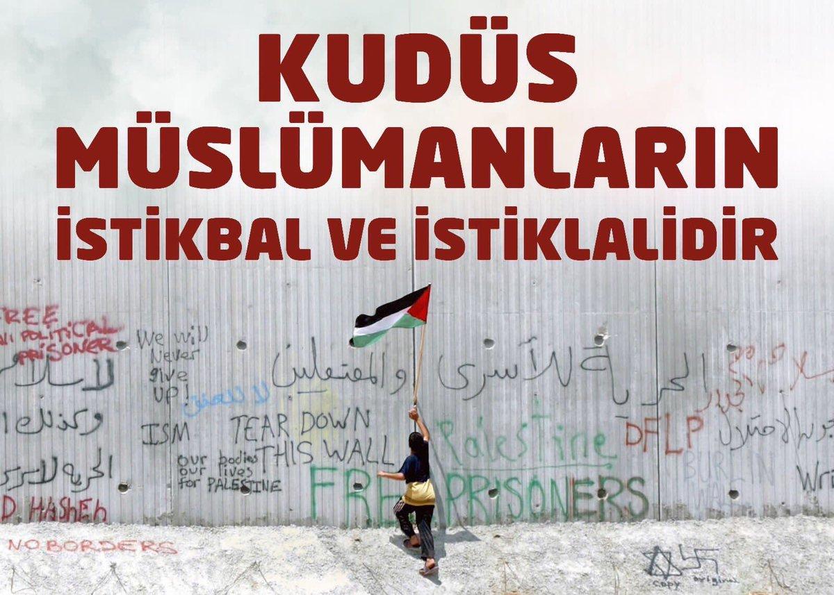 RT @epkmzc: #UmudunBaşkentiKudüs https://t.co/STbcLuF280