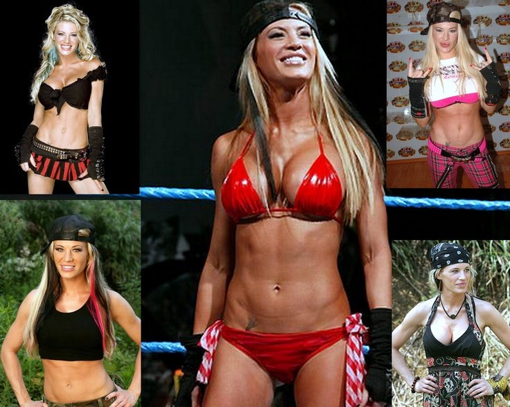 Ashley Massaro In Bikini
