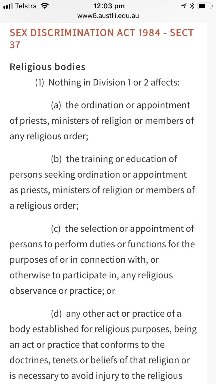 Congratulate, what is the sex discrimination act 1984 can help