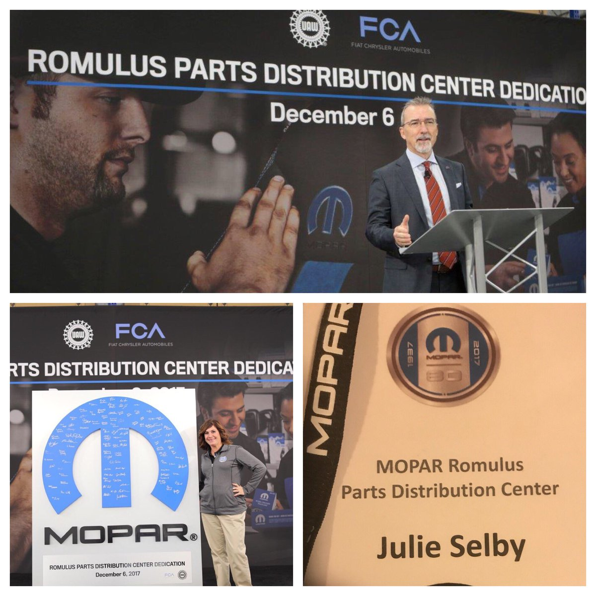 Doing great things at Mopar Romulus PDC today! We crushed the grand opening!  #TeamMopar #EEM <br>http://pic.twitter.com/jnahUW8qEb