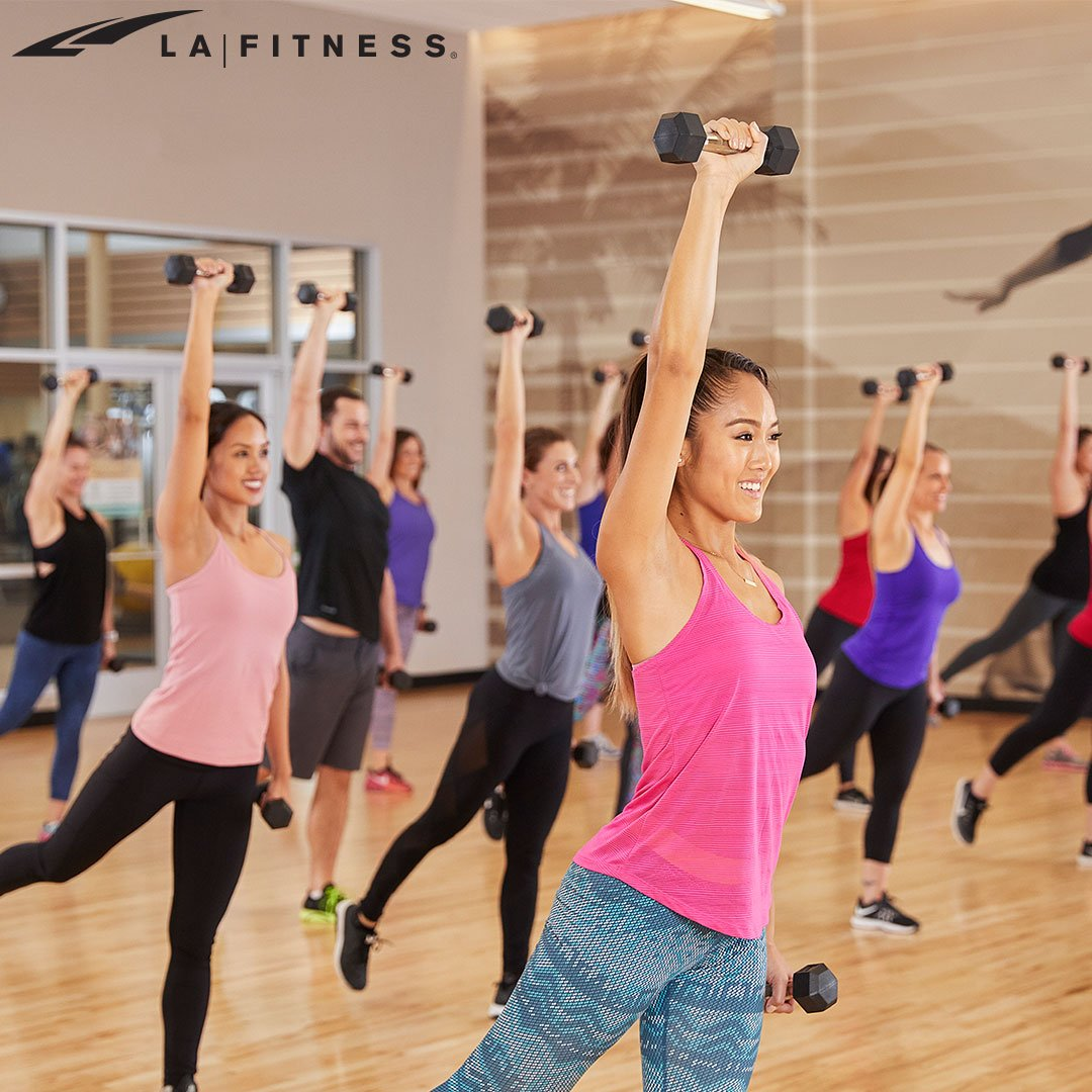 la fitness on twitter get a full body workout in during an