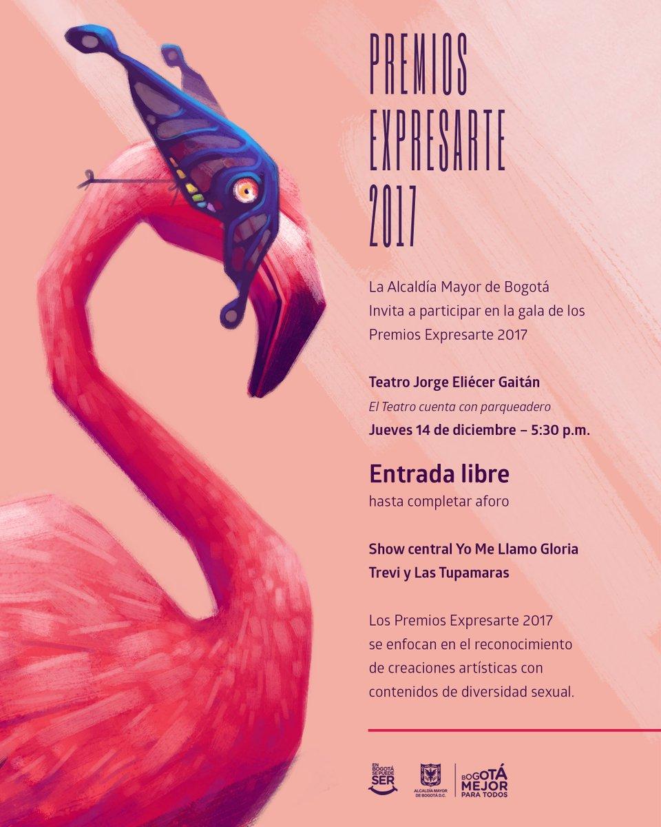 Premios Expresarte 2017; una gala multig...