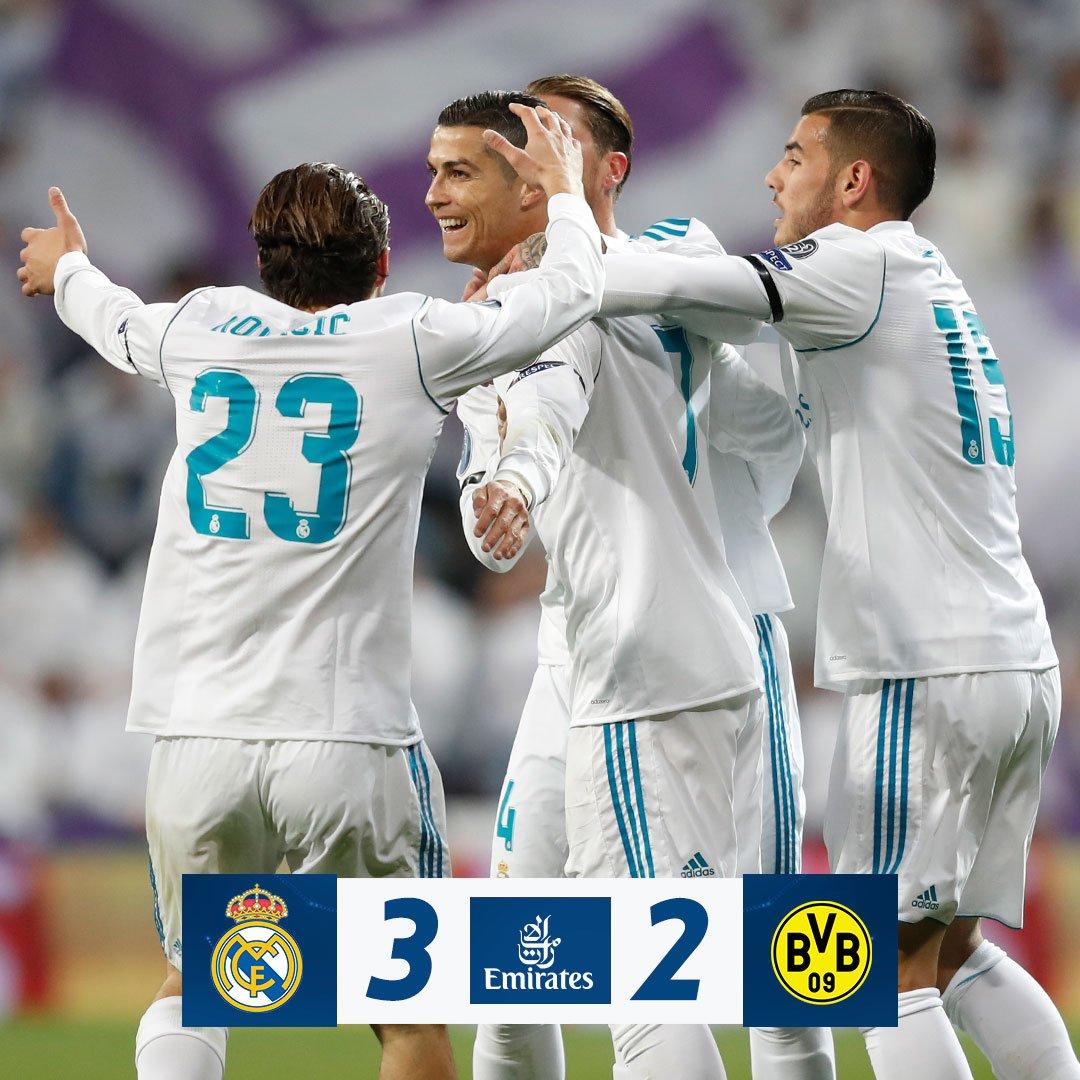 Chấm điểm trận Real Madrid 3-2 Dortmund