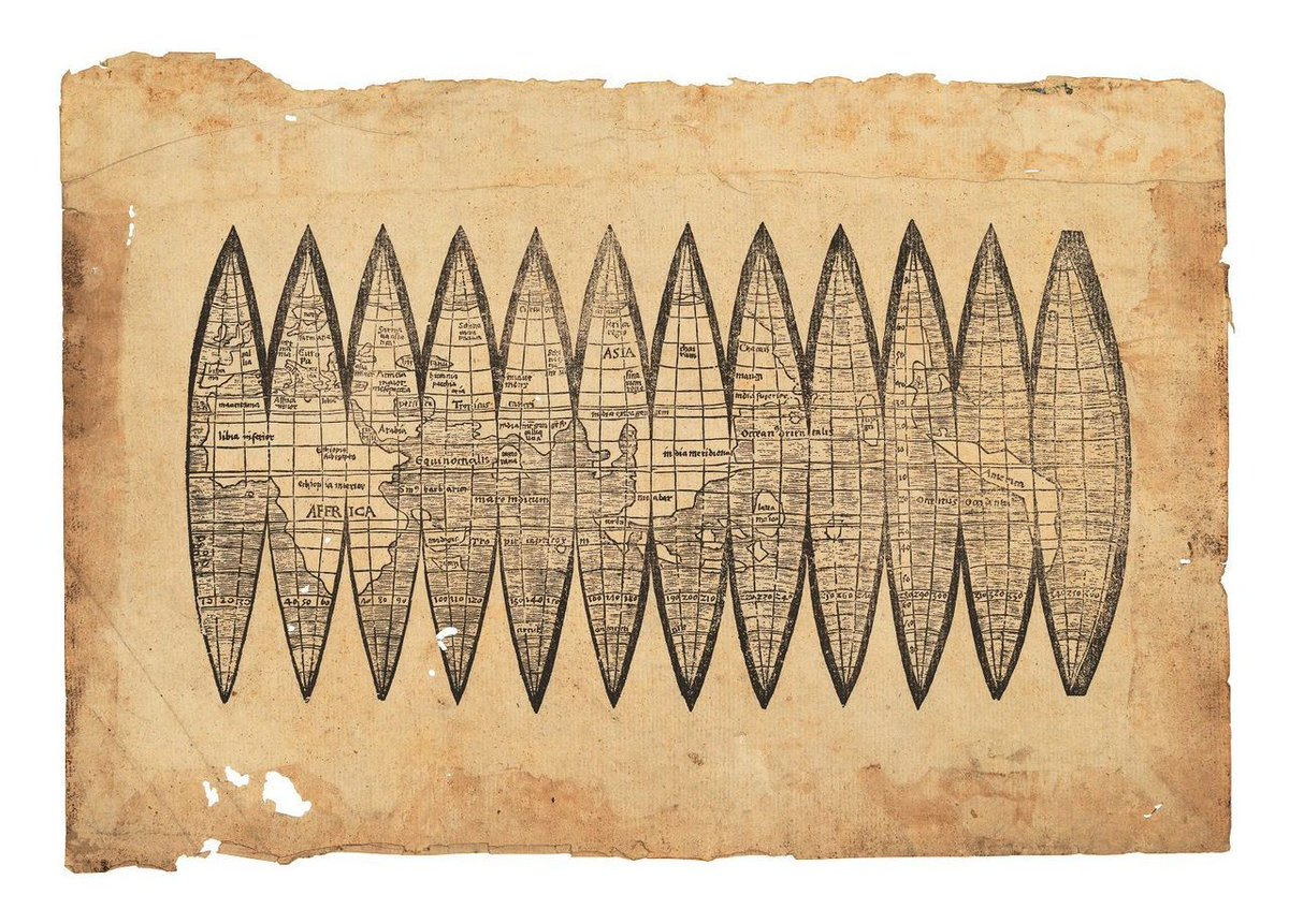 500 Year Old Map Of America.Simon Kuestenmacher On Twitter This 500 Year Old Map Might Not