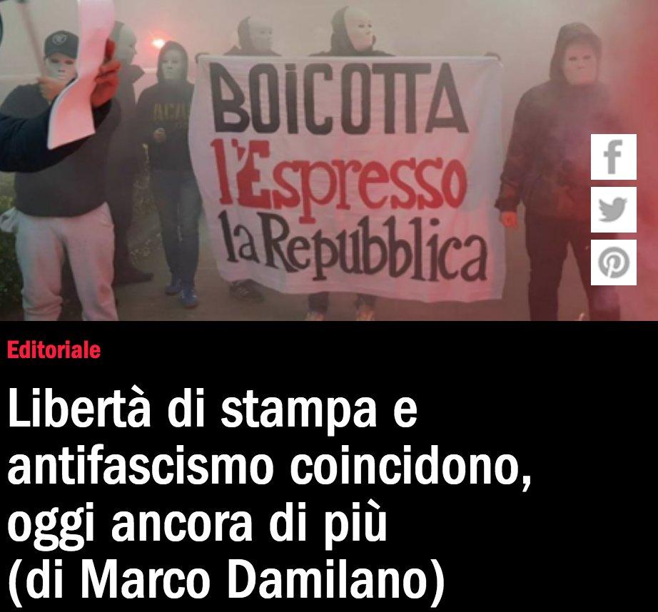 L'editoriale di Marco Damilano dopo l'attacco di #ForzaNuova https://t.co/DOW5zRfQtY