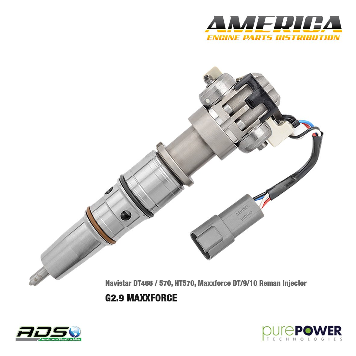 Maxiforce New Products Diesel Engine Parts T Maxxforce 13 Component Diagram Fuel Injector Navistar Dt466 570 Ht570 Dt 9 10 By Purepower Technologies 250usd W Core Exchange Buy On Line