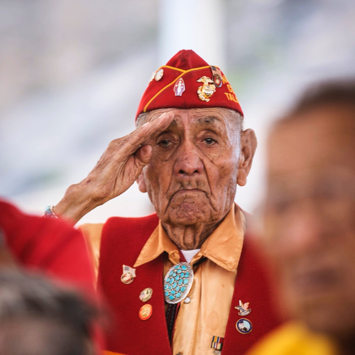 Honor the Fallen  Yesterday the Corps lost Navajo Code Talker George B. Willie Sr.  Semper Fidelis, Marine.  More: https://t.co/gW7njA0tO6