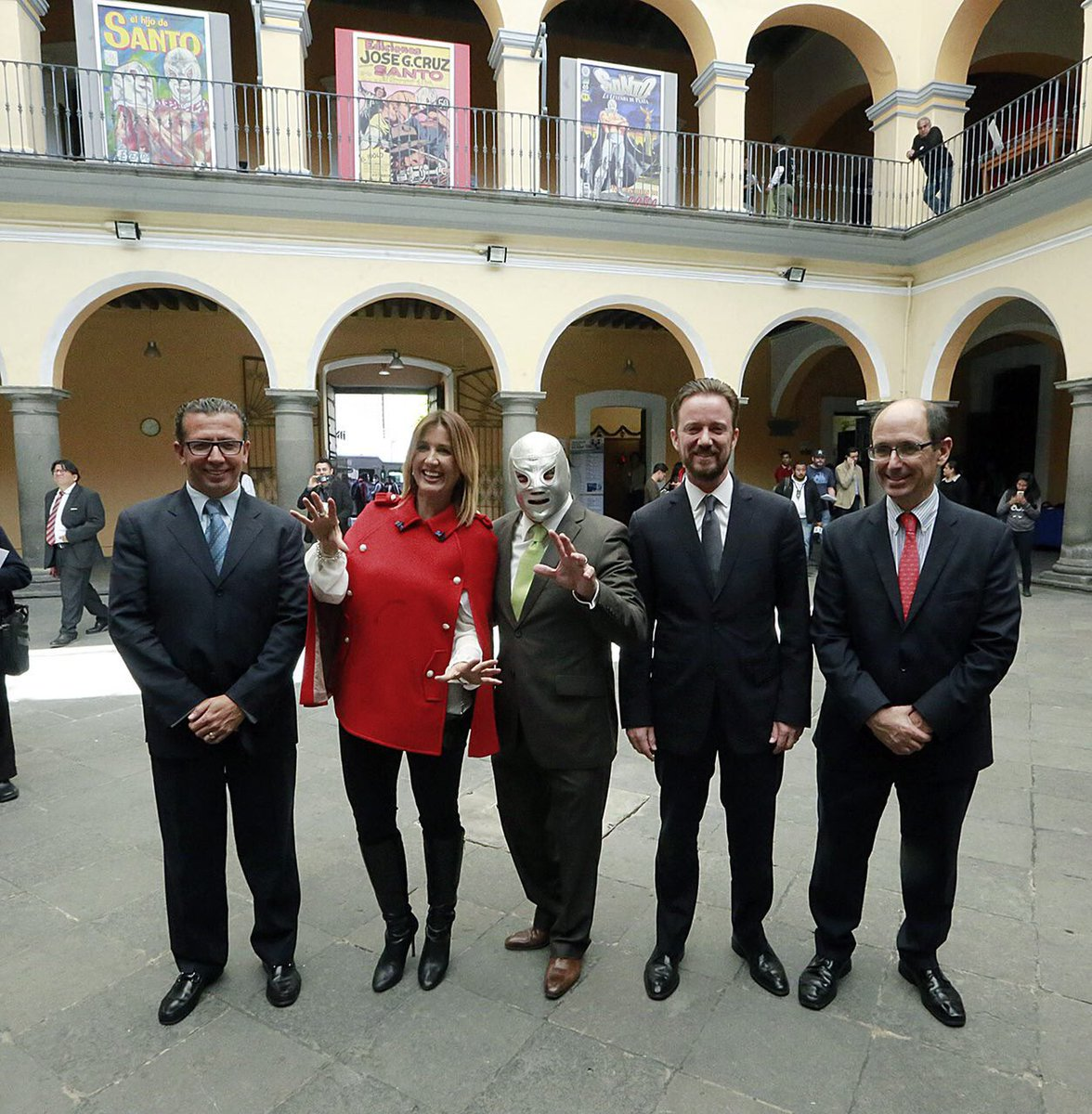 El Santo en Puebla
