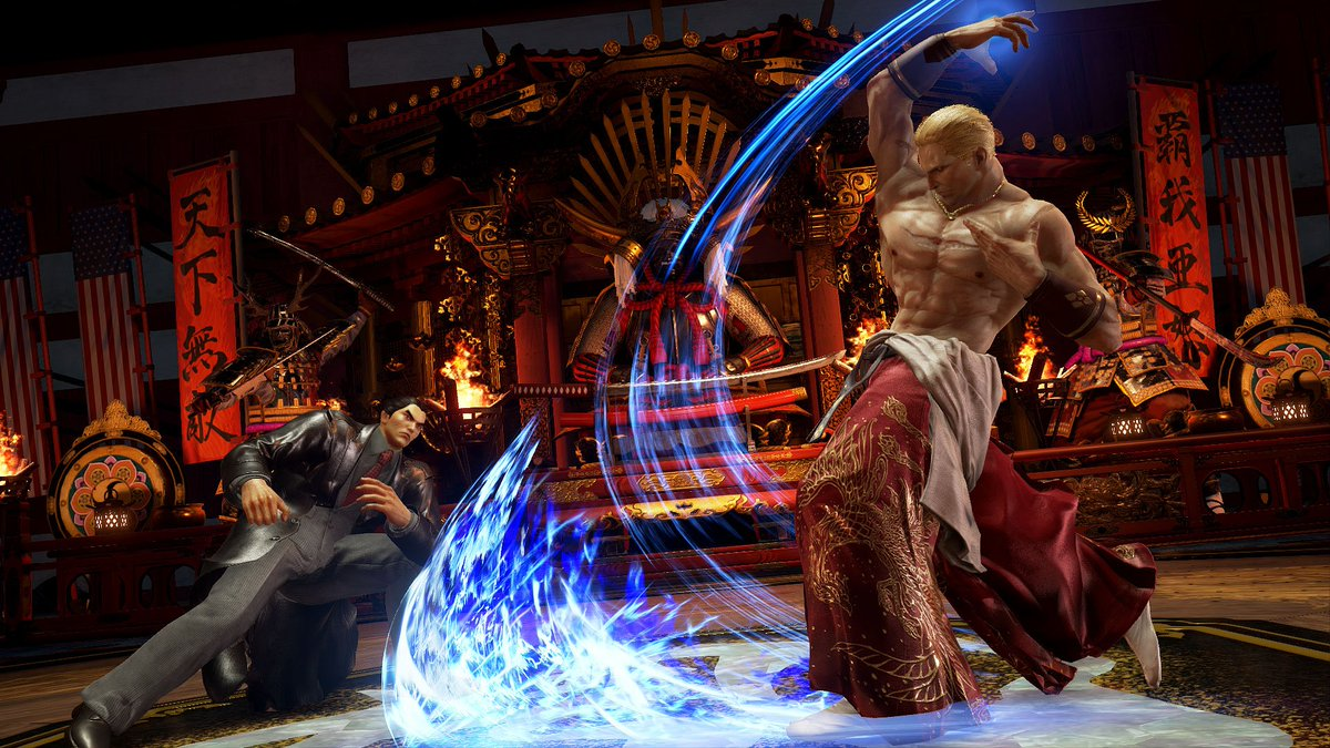 Geese Howard has arrived to @TEKKEN 7!! DLC #2 includes the Howard Estate stage, Geese Howard with new costumes, PLUS access to play him in Practice, Arcade, Treasure Battle and Ultimate Tekken Bowl mode from DLC#1 Download him TODAY! https://t.co/SXhI2lEyY6