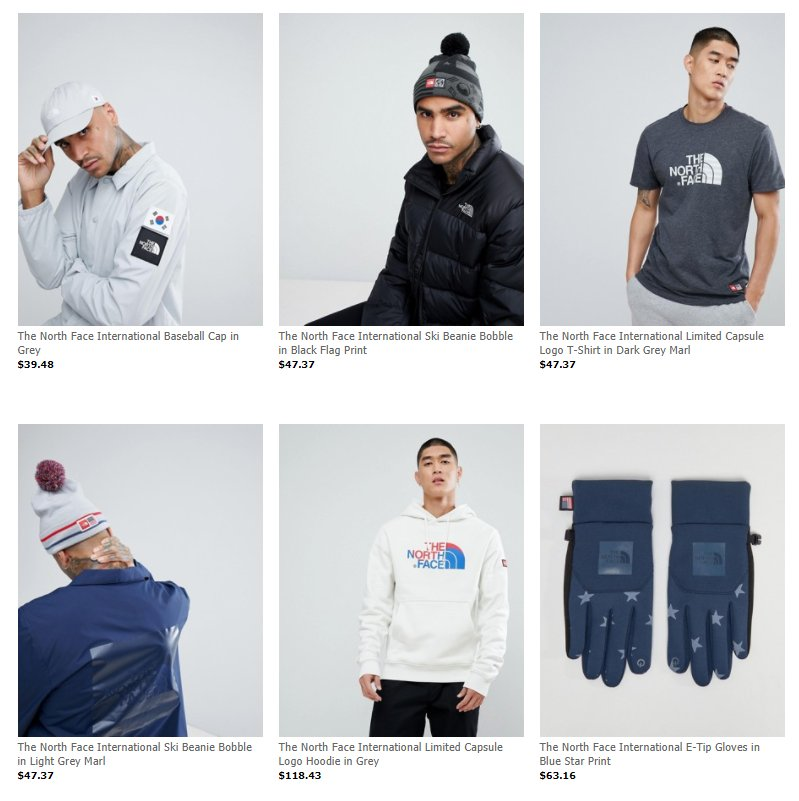 5384c3e60ba The North Face International Collection dropped via ASOS     http   bit.ly 2kslbP6 pic.twitter.com FbhcLRGcUg