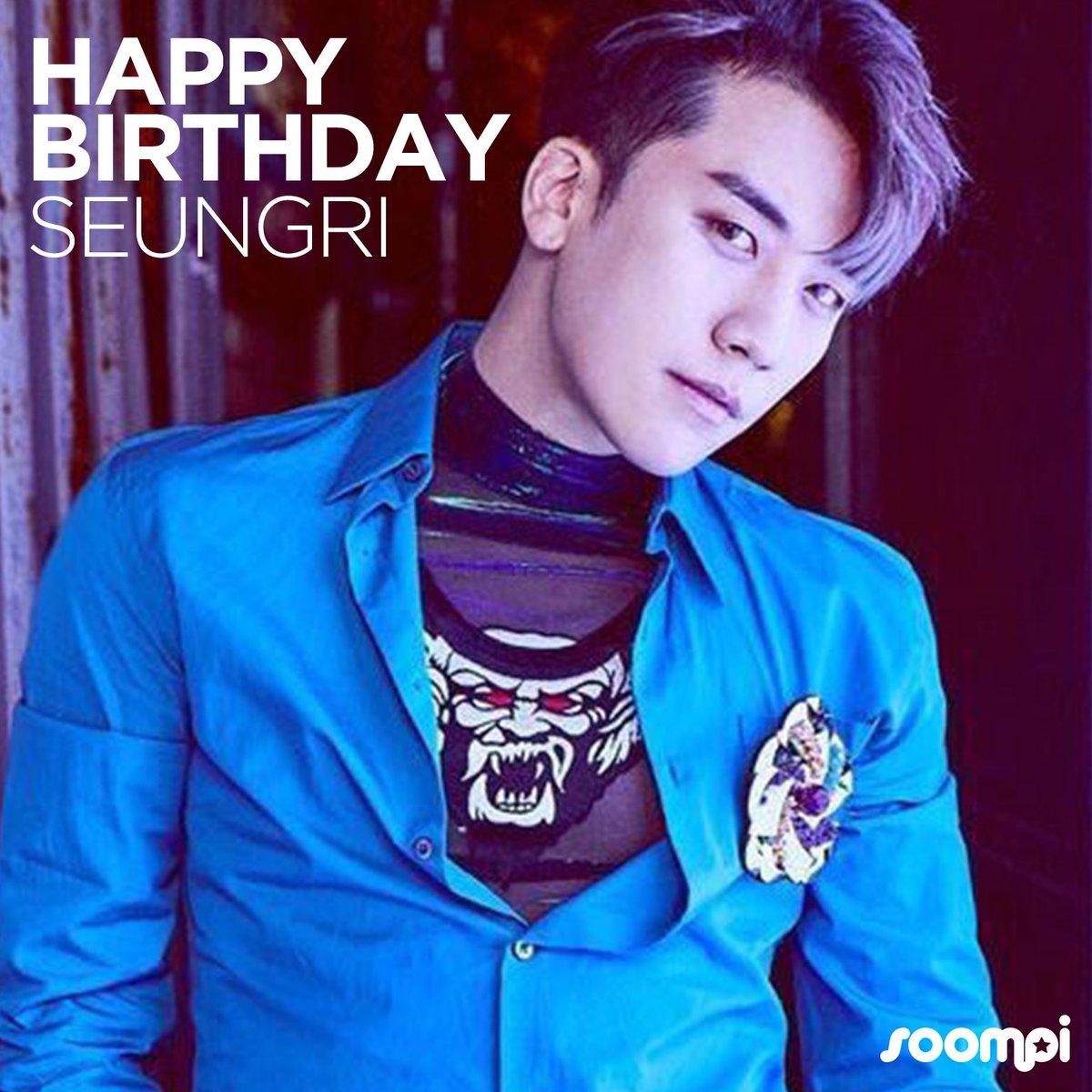 Happy Birthday to #BIGBANG's Seungri! #H...