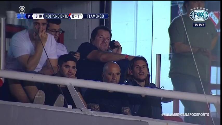 🏆 Olha quem está aí: Jorge Sampaoli! #SulamericanaFOXSports