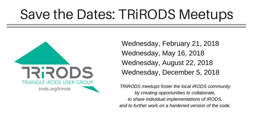 iRODS on Twitter: