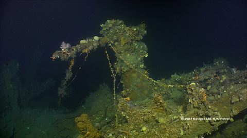 沈んだ米駆逐艦「ワード」の映像、ポール・アレン氏が公開 旧日本海軍の戦艦「山城」なども探査 - ねと…