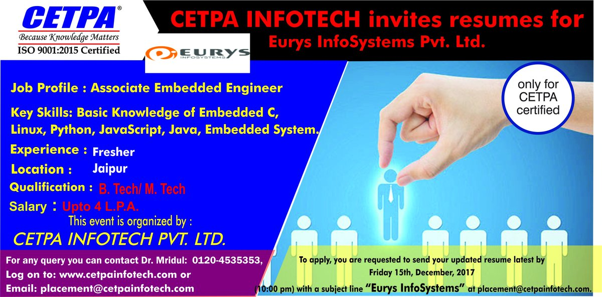 CETPA INFOTECH on Twitter: \