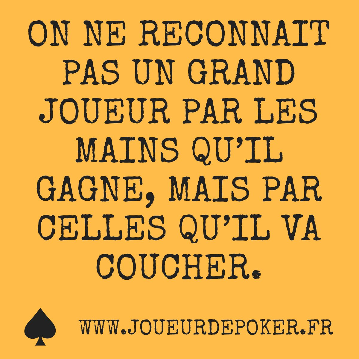 #pokerface #holdem #nolimit #texasholdem #grind #texasholdemtournament #pokertshirt #tshirt #tshirts #pokershirt citation #jpeuxpasjaipoker #poker #pokernight #joueurdepoker #pokergrind #pokergear #pokerstyle #pokerplayer #pokerstars #texapoker #winamax #poker #citations <br>http://pic.twitter.com/A7KfmEdLGR