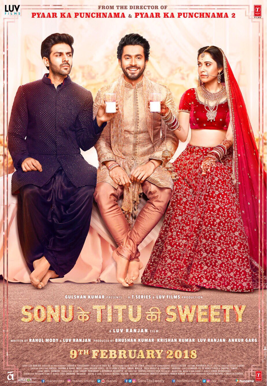 Sonu Ke Titu Ki Sweety (2018) Hindi Full Movie PDVDRip 1GB x264 *Watch Online*