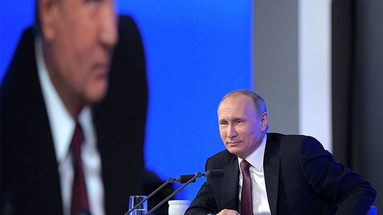 Putin to hold annual press conference later today – FOLLOW LIVE on https://t.co/3vDnGyTsS7 from 9:00 am GMT