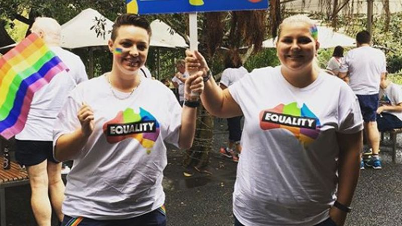 First Australian same-sex wedding to take place this weekend. #MarriageEquality #9News https://t.co/3IVhZPuNrD