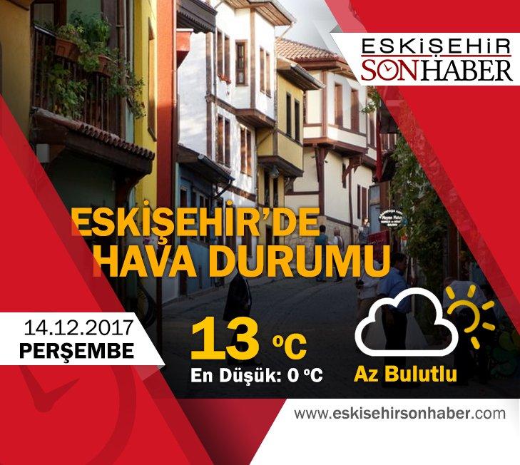 14 Aralık 2017 hava durumu #eskişehir #hava #durumu #yağmur #meteoroloji #kış #yağış #Aralık #december #güneş #bulut https://t.co/tlcPjOGJzy