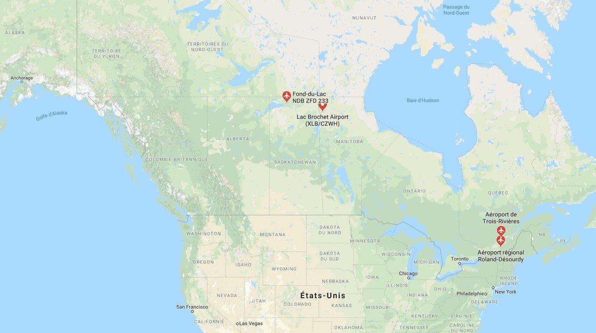Au Canada, un avion s'écrase après le décollage, des blessés >> https://t.co/6gjDgszh7C