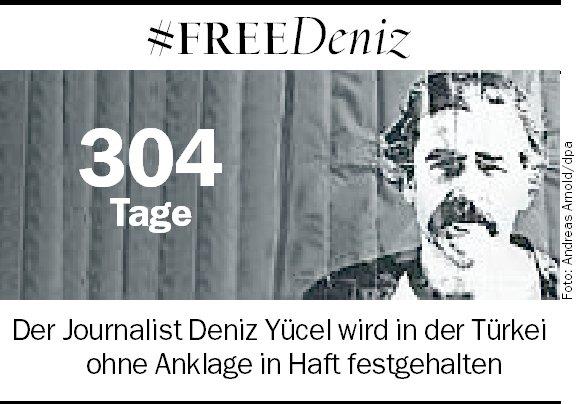 Nicht vergessen. #FreeDeniz