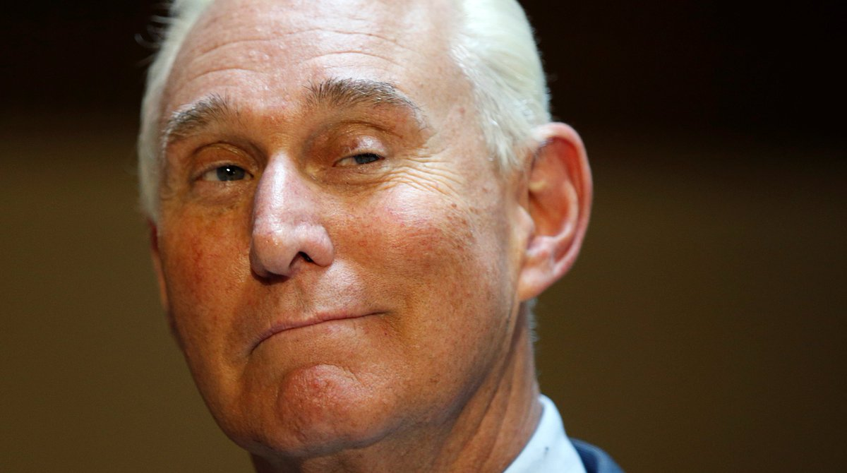 Trump ally Roger Stone said he is writing a book about the president's impending demise https://t.co/M6qAMH7yfA