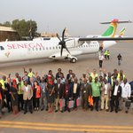 Greetings from #Ouagadougou, the last stop of our demo tour in West Africa 👌😉 #ATRLeads #avgeeks