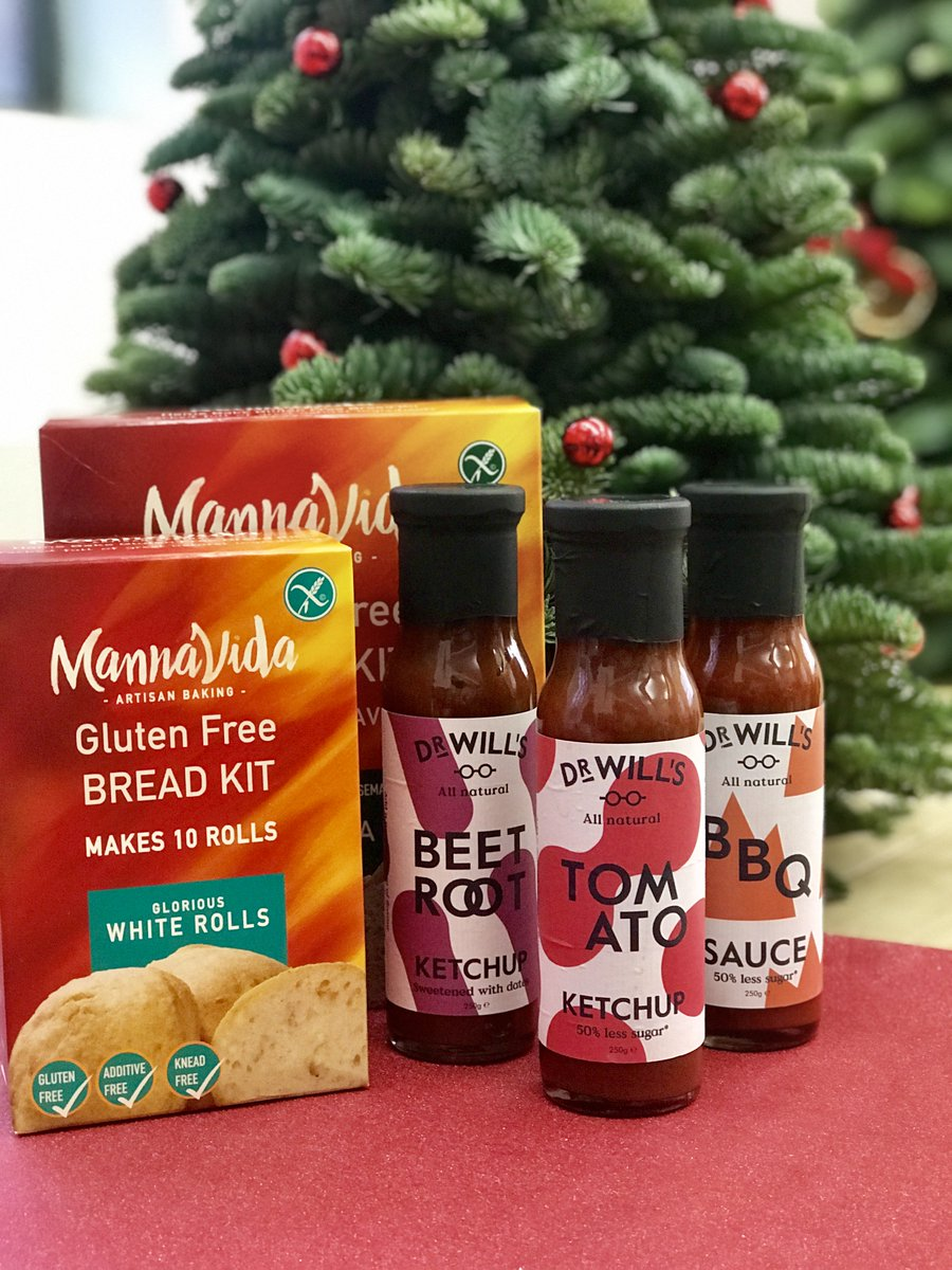 We&#39;ve got together with our new chums @doctor_wills as part of an #Advent #Competition to #win a sauce set and one of our #glutenfree bread kits - just like and #RETWEEET and well pick a #winner and pop these goodies in the post for you, good luck!<br>http://pic.twitter.com/duan3nXNlM