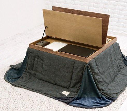 こたつライフがますます捗る キングジムフェアに展示された「収納付きこたつ」に注目...