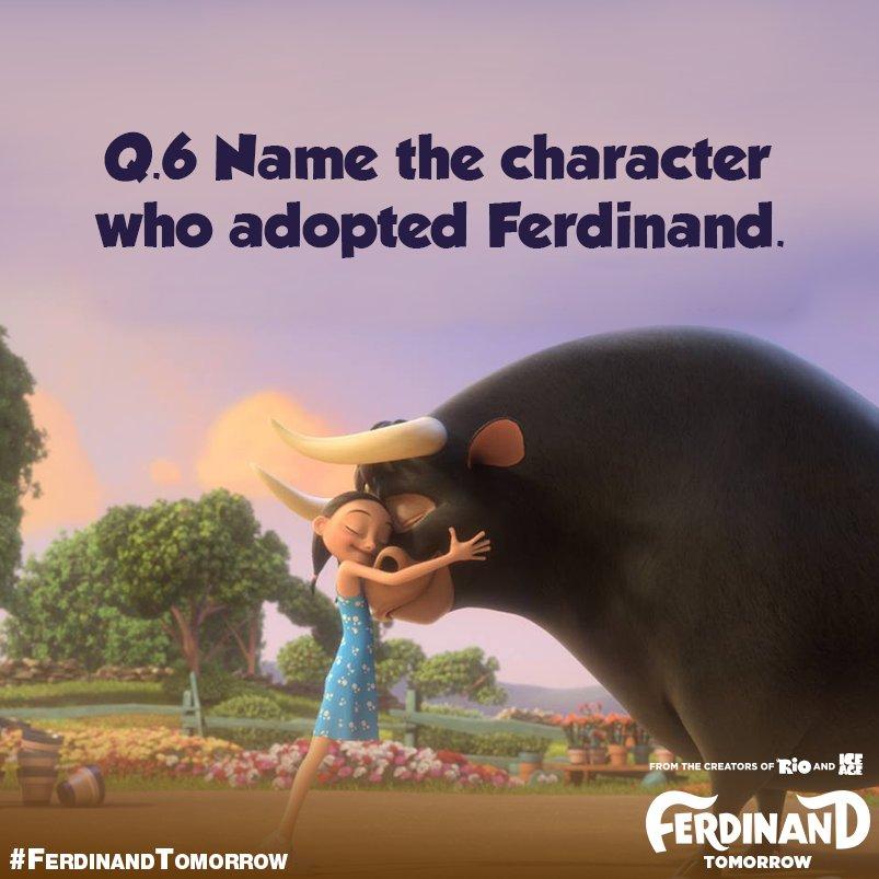 "N M Venkatesh On Twitter: ""A6. Nina Adopted Ferdinand"
