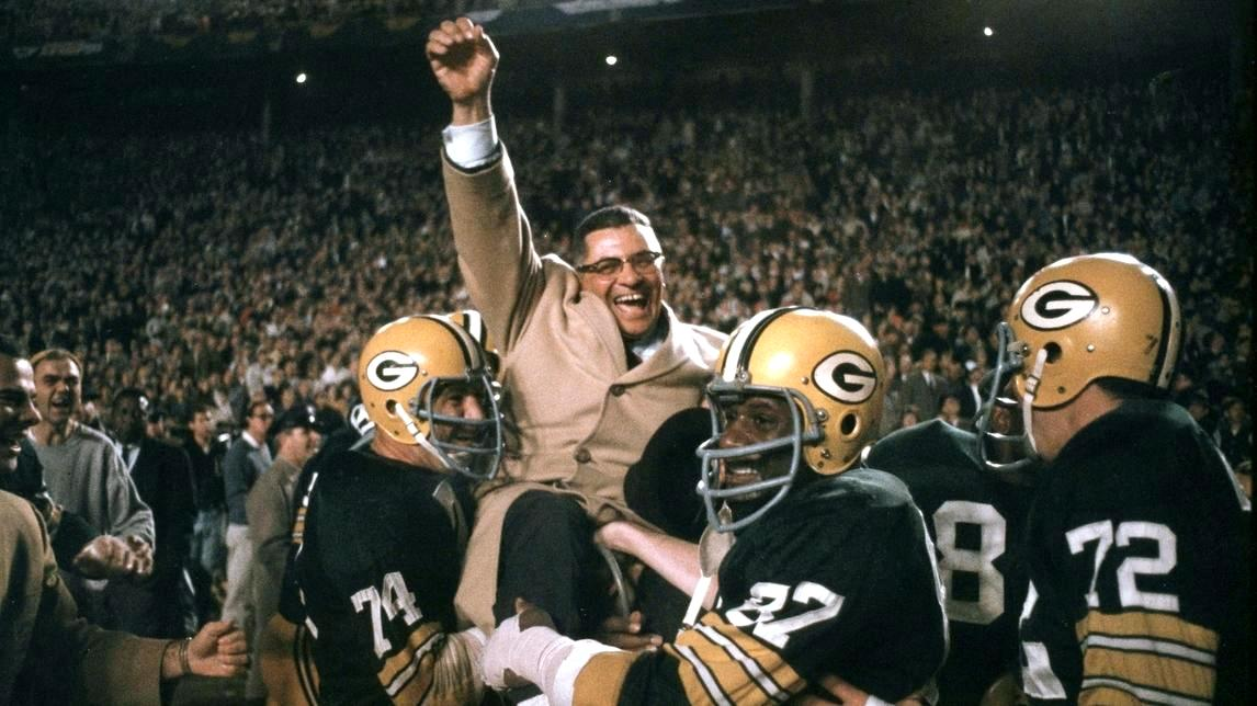 I don&#39;t think there&#39;s a punch-line scheduled, is there? #VinceLombardi <br>http://pic.twitter.com/WuKw8FapUT